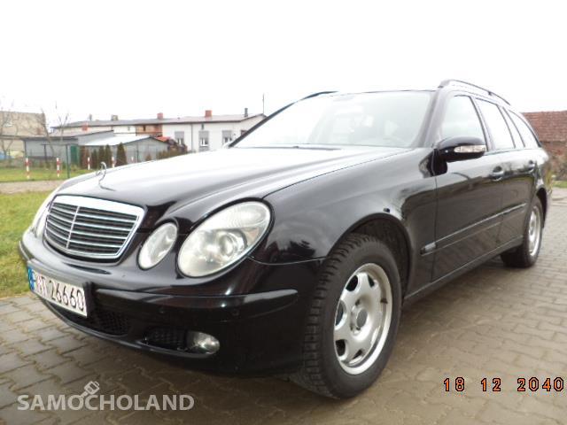 Mercedes Benz Klasa E W211 (2002-2009) Mercedes kombi  w 211 e klasa 2,7cdi 2