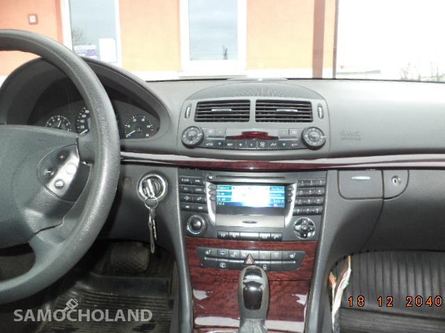 Mercedes Benz Klasa E W211 (2002-2009) Mercedes kombi  w 211 e klasa 2,7cdi 11