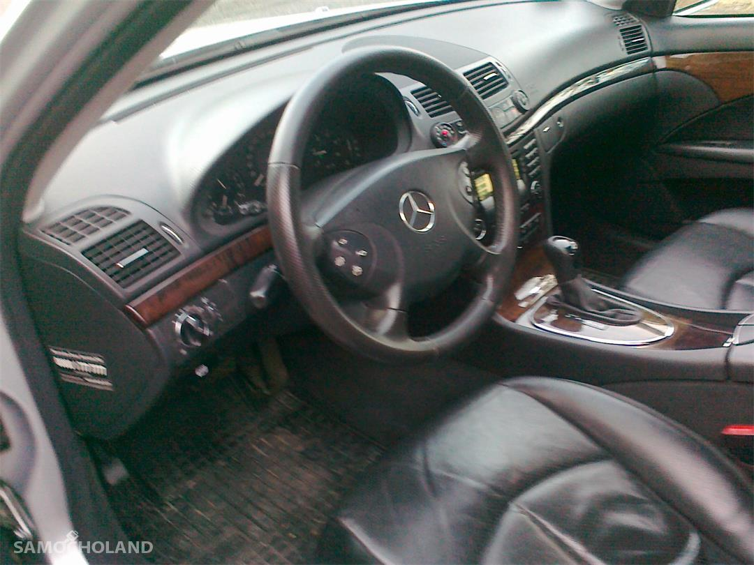 Mercedes Benz Klasa E W211 (2002-2009) Zadbany atrakcyjny Mercedes 7