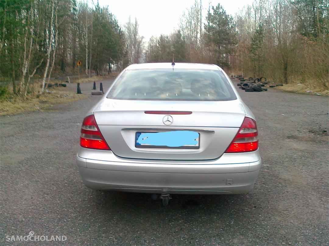 Mercedes Benz Klasa E W211 (2002-2009) Zadbany atrakcyjny Mercedes 11