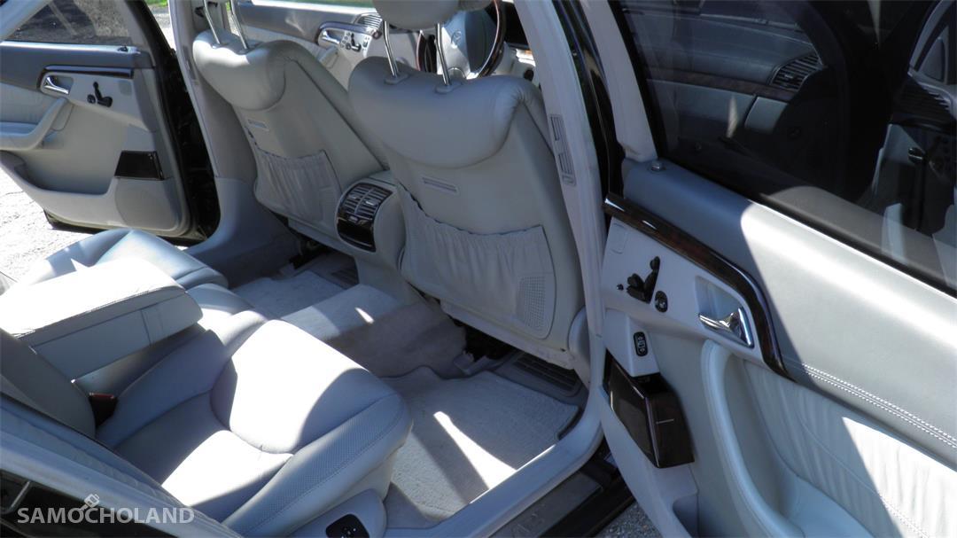 Mercedes Benz Klasa S W220 (1998-2005)  29
