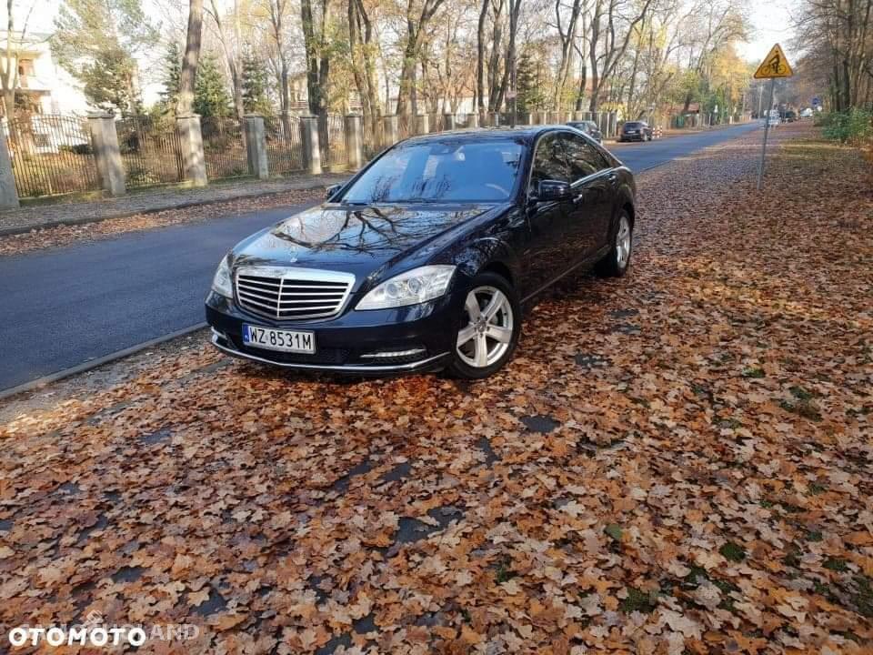Mercedes Benz Klasa S W221 (2005-2013) Mercedes Benz Mercedes S 350 CDI  100% Bezwypadkowy  Mały Przebieg 1
