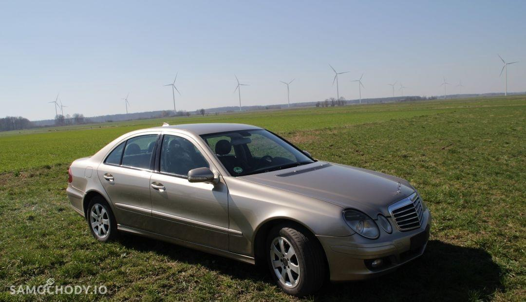 Mercedes-Benz Klasa E W211 (2002-2009) 1 właściciel 136KM automat Xenon Climatronic 1