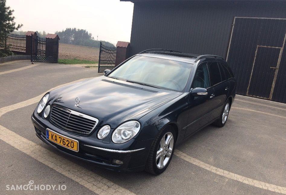 Mercedes-Benz Klasa E W211 (2002-2009) szyberdach, xenony, przyciemniane szyby, 1