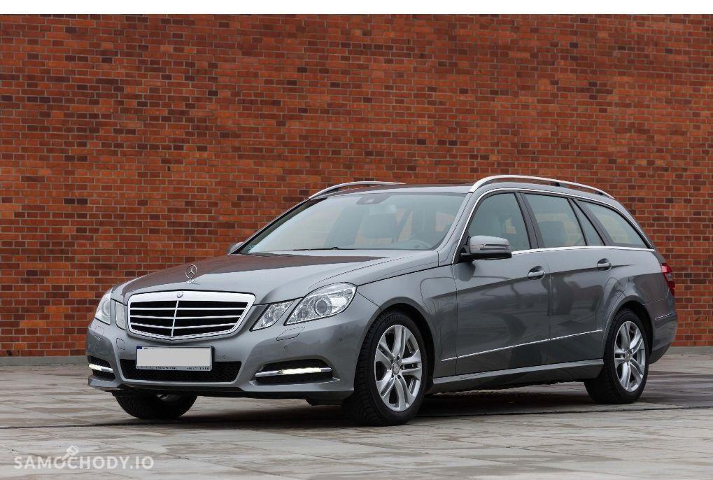 Mercedes-Benz Klasa E W212 (2009-) Benzyna 1.8 184KM 2013r. 1