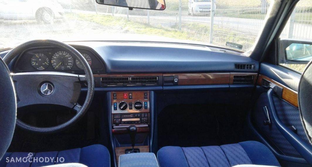 Mercedes-Benz Klasa S W126 (1980-1993) Zabytek, rocznik '82 , klima, automat - pełny oryginał, II właściciel  4