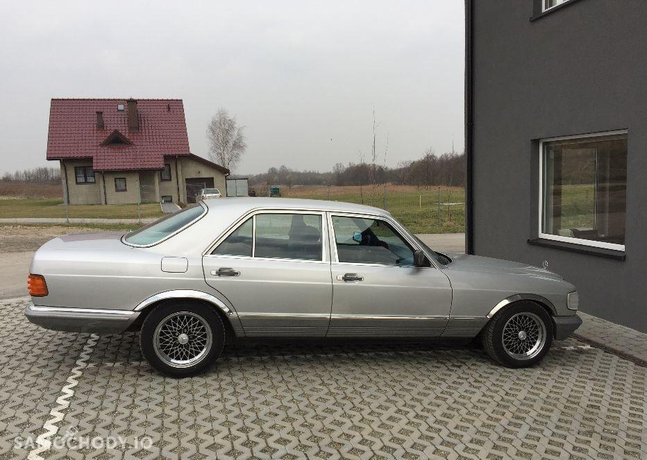 Mercedes-Benz Klasa S W126 (1980-1993) Zabytek, rocznik '82 , klima, automat - pełny oryginał, II właściciel  2