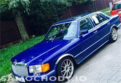 mercedes benz klasa s w126 (1980-1993) Mercedes-Benz Klasa S W126 (1980-1993) AMG Pakiet 185KM Alu BBS Ks. Serwisowa