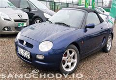 mg mgf 1.7 benzyna , 120 km ,  kabriolet