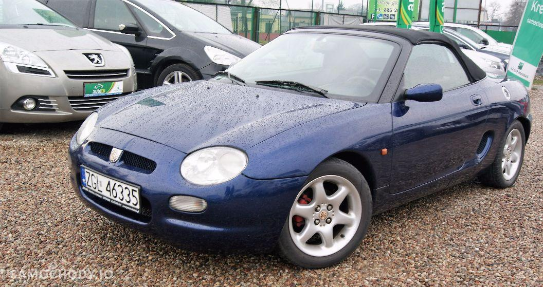 MG MGF 1.7 benzyna , 120 KM ,  kabriolet  1