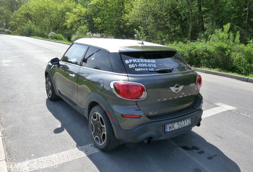 Mini Paceman Zarejestrowany w Polsce , 184 KM , skóra 2