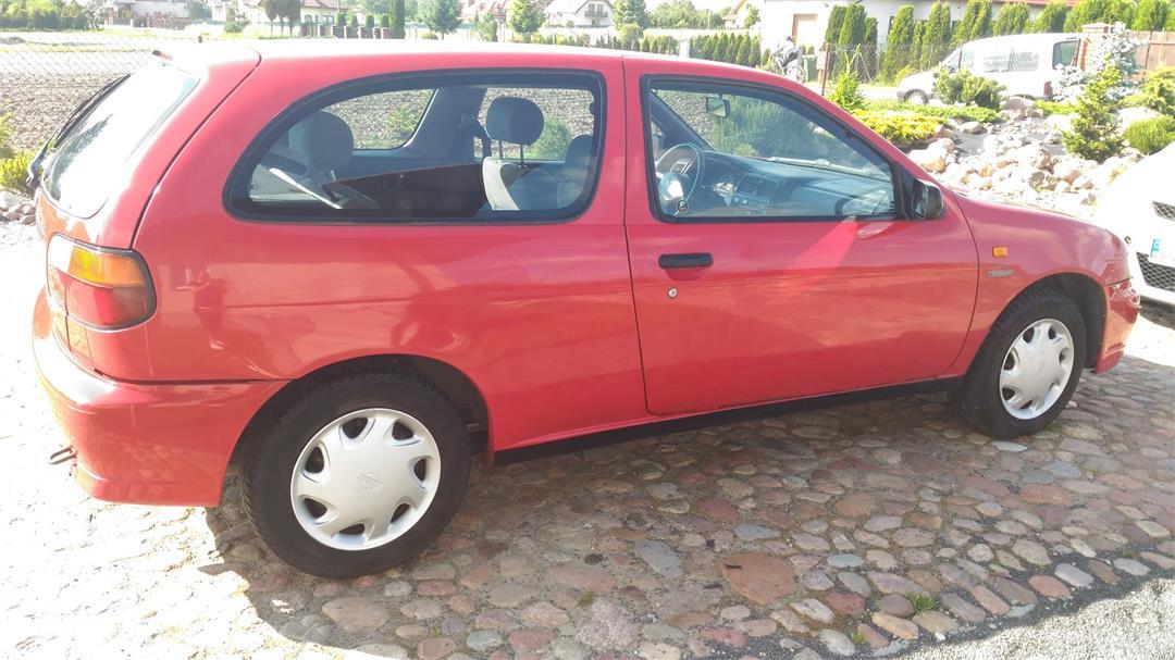 Nissan Almera N15 (1995-2000) ORYGINALNY JAPOŃCZYK, przebieg 173000, klimatyzacja 2