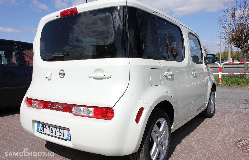 Nissan Cube bogata wersja , perłowy , minivan 4
