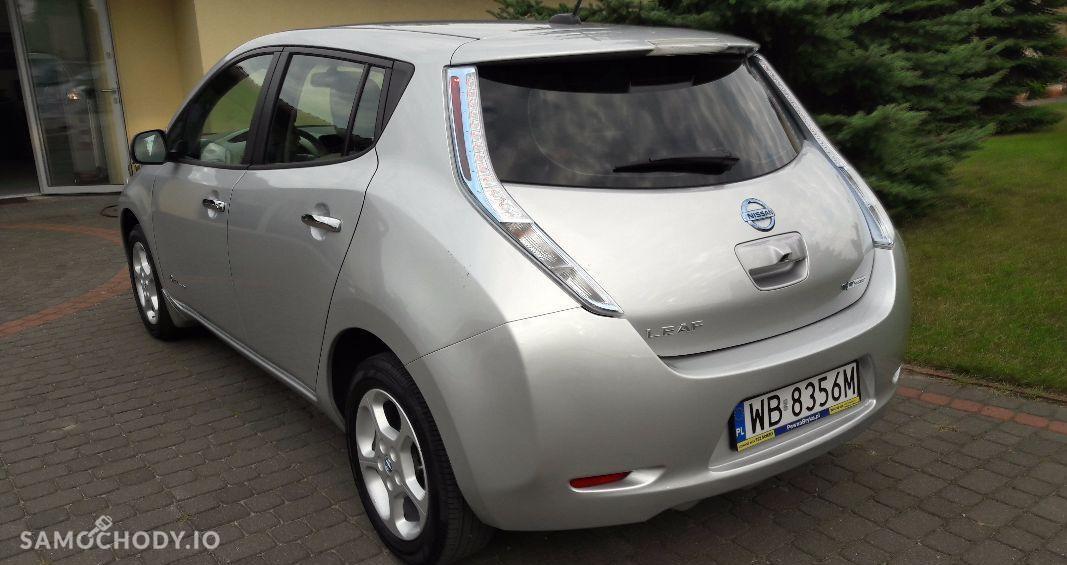 Nissan Leaf elektryczny , niski przebieg , system start stop 2