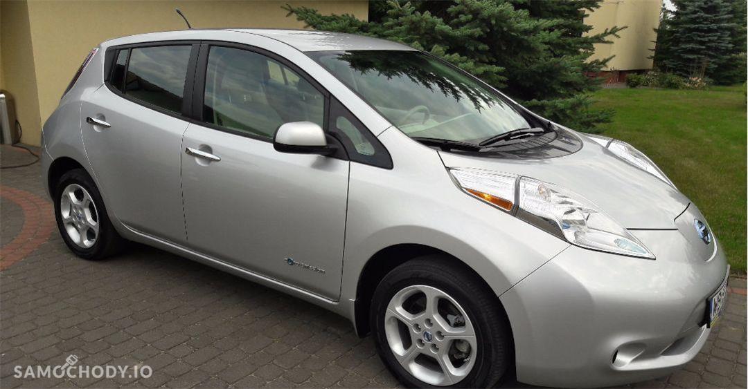Nissan Leaf elektryczny , niski przebieg , system start stop 1