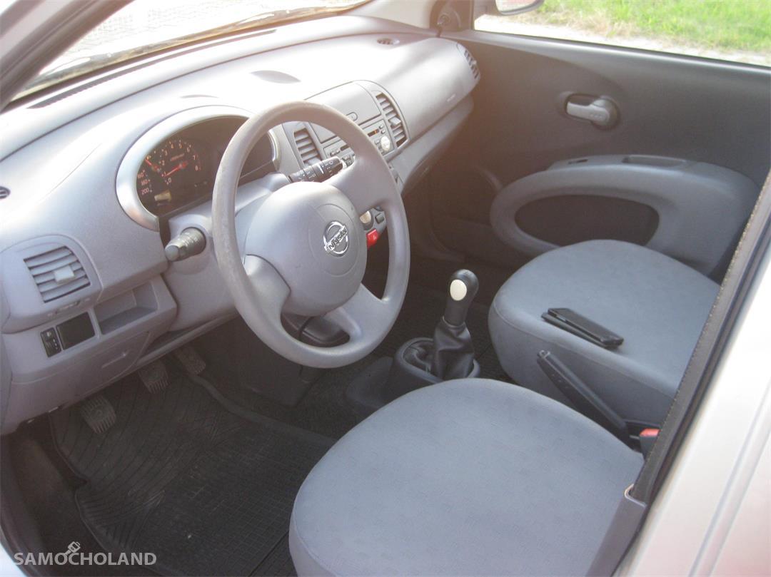 Nissan Micra K12 (2003-2010) Nissan Micra K12, 123 tys. km przebiegu, 5 drzwi, szyberdach 7