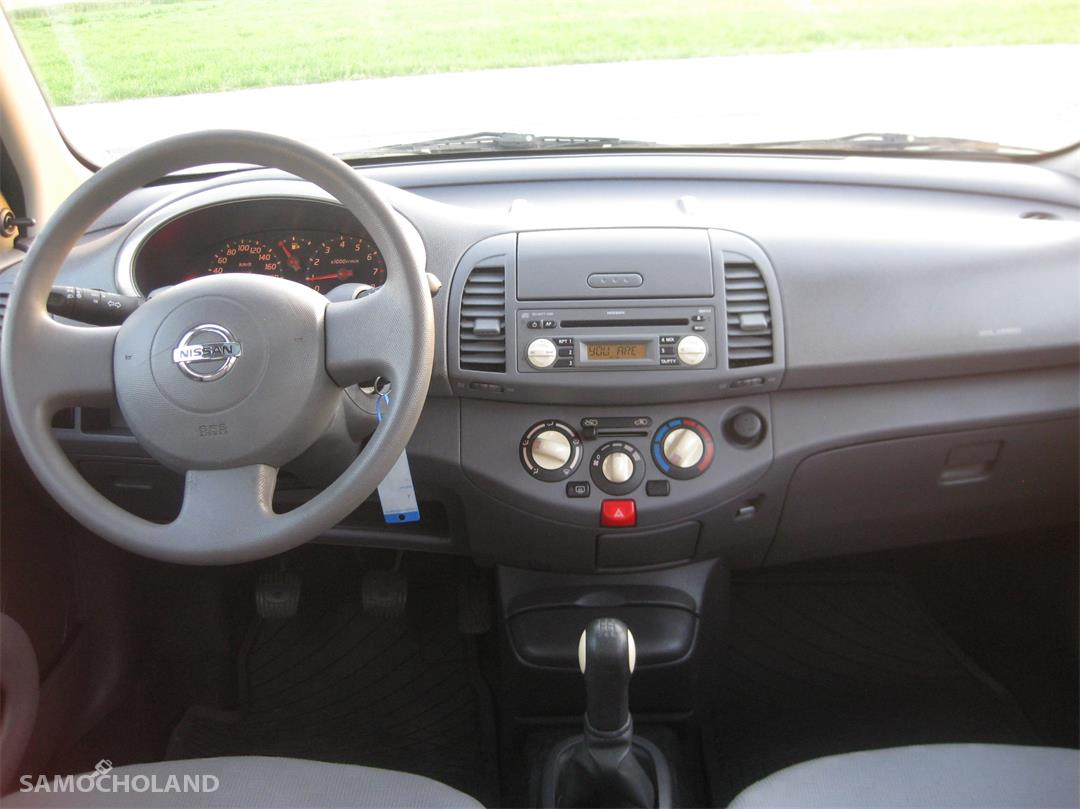 Nissan Micra K12 (2003-2010) Nissan Micra K12, 123 tys. km przebiegu, 5 drzwi, szyberdach 22