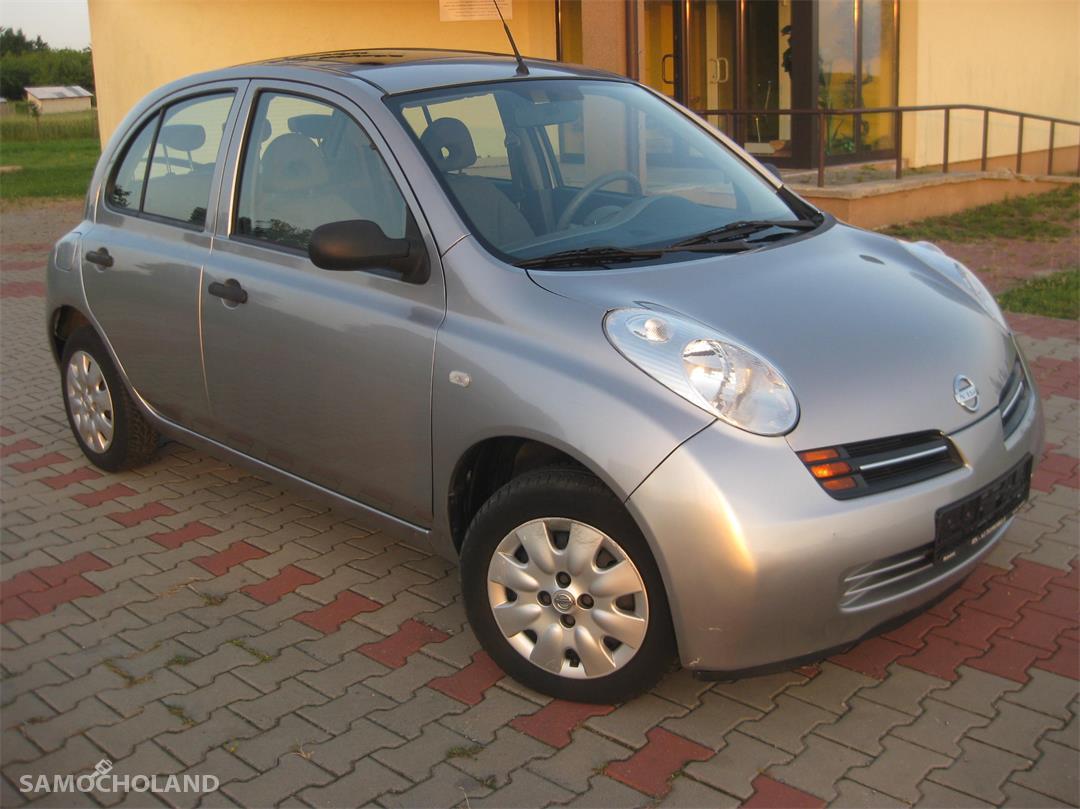 Nissan Micra K12 (2003-2010) Nissan Micra K12, 123 tys. km przebiegu, 5 drzwi, szyberdach 2