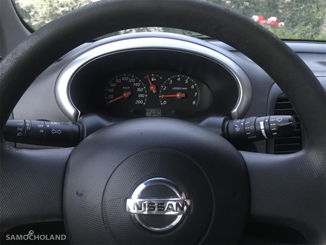Nissan Micra K12 (2003-2010) OD KOBIETY, GARAŻOWANY, KOMPLET ALUFELG 11
