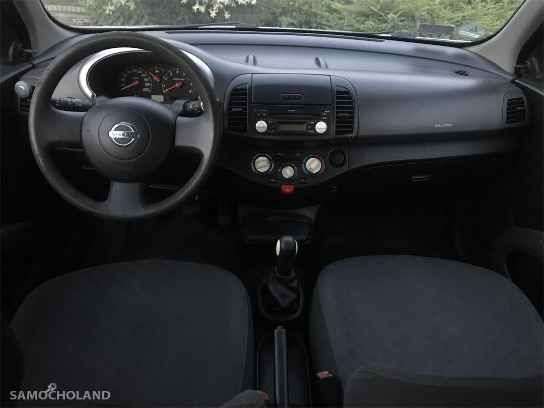 Nissan Micra K12 (2003-2010) OD KOBIETY, GARAŻOWANY, KOMPLET ALUFELG 16