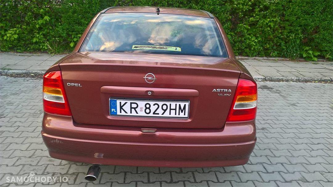 Opel Astra G (1998-2009) OPEL ASTRA G / 2001r / 183tys/ ZADBANA/PIERWSZY WŁAŚCICIEL 4