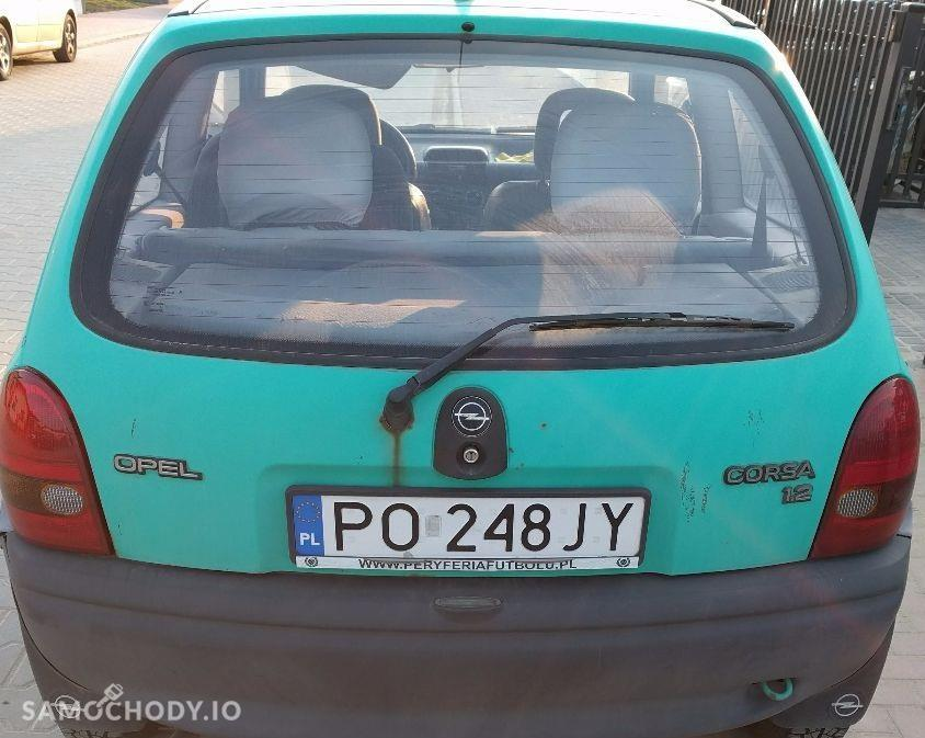 Opel Corsa B (1993-2000) 8 lat w moich rękach, nigdy nie zawodzi, 1.2 benzyna 2