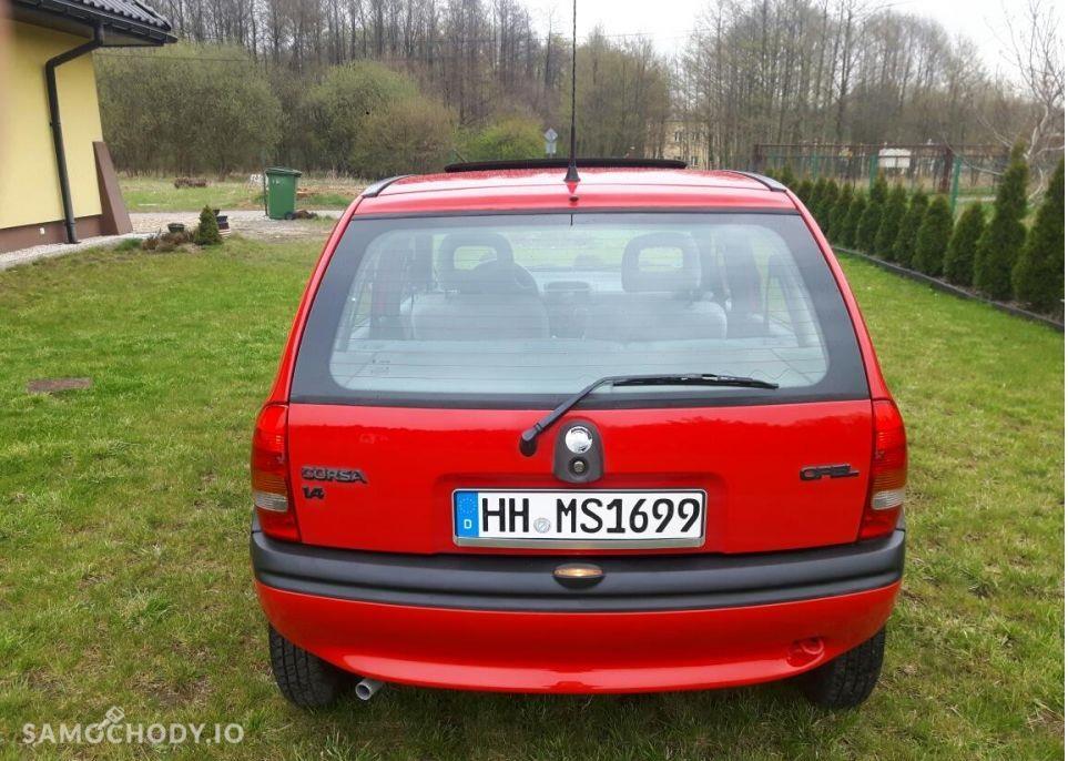 Opel Corsa B (1993-2000) ekonomiczny, zadbany , udokumentowany przebieg  2