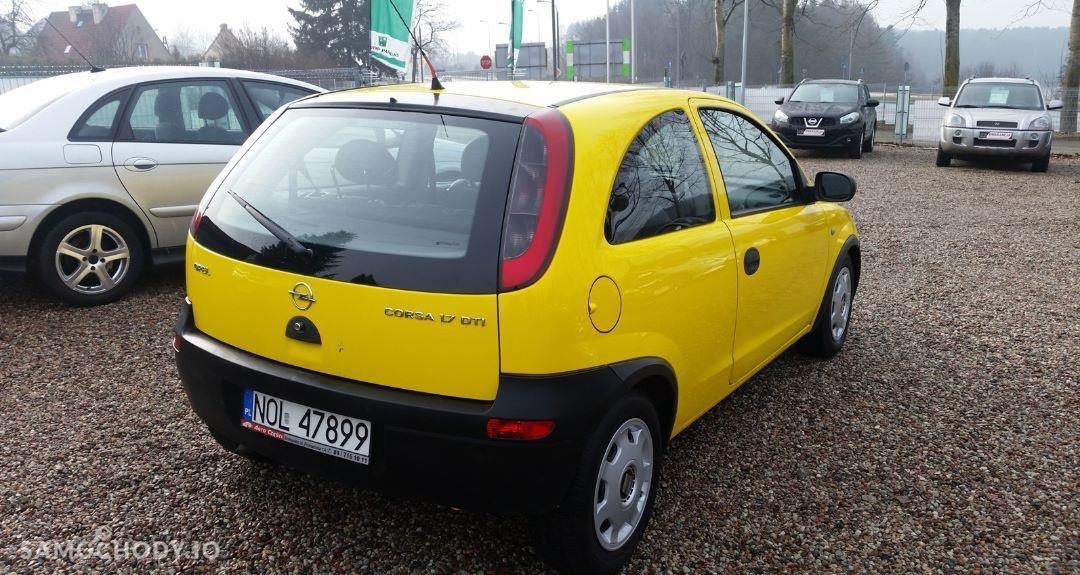 Opel Corsa C (2000-2006) Diesel 1.7 75KM 2001r. 2