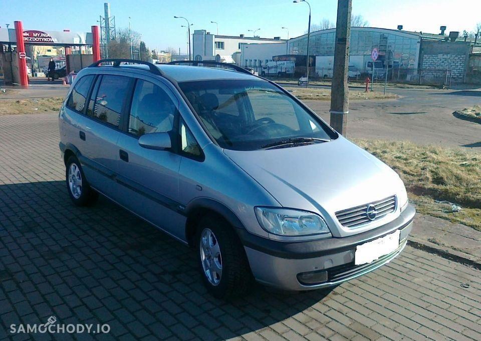 Opel Zafira A (1999-2005) Benzyna 1.6 101KM 2000r. 1