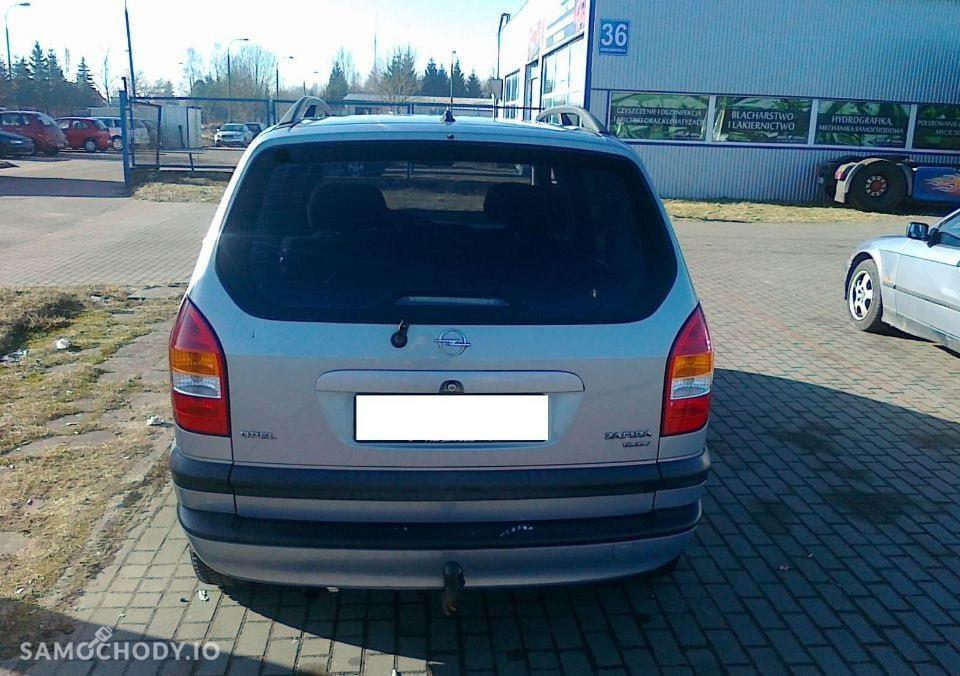 Opel Zafira A (1999-2005) Benzyna 1.6 101KM 2000r. 2