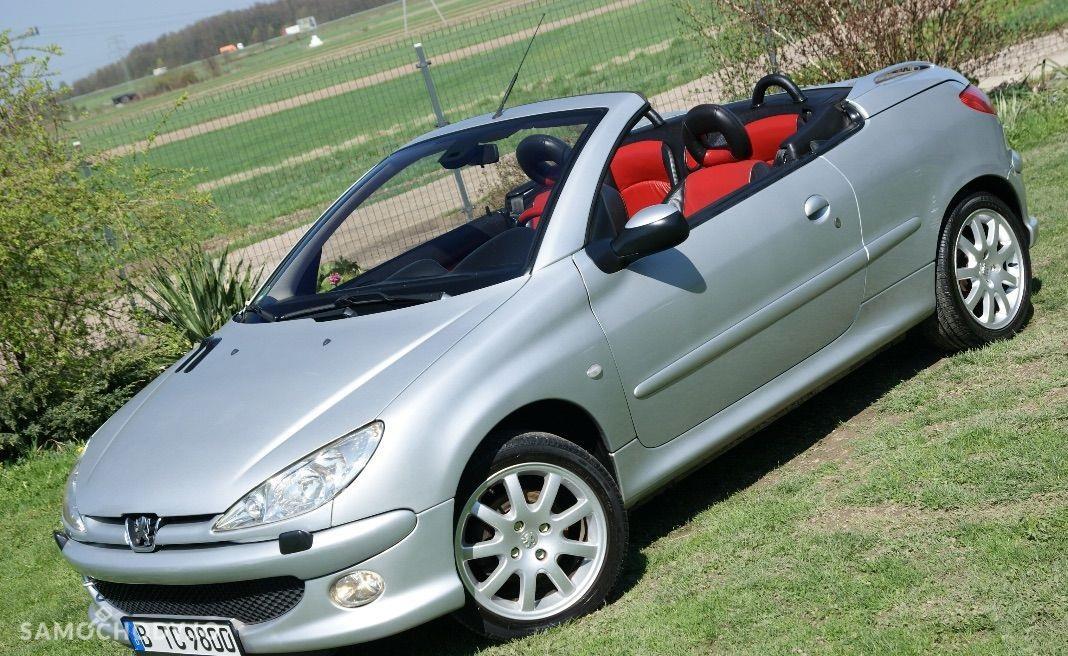 Peugeot 206 CC kabriolet, alufelgi, skóra 1
