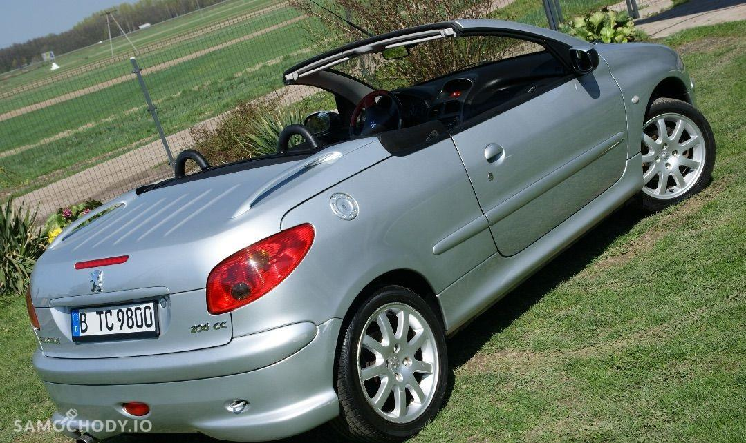 Peugeot 206 CC kabriolet, alufelgi, skóra 2