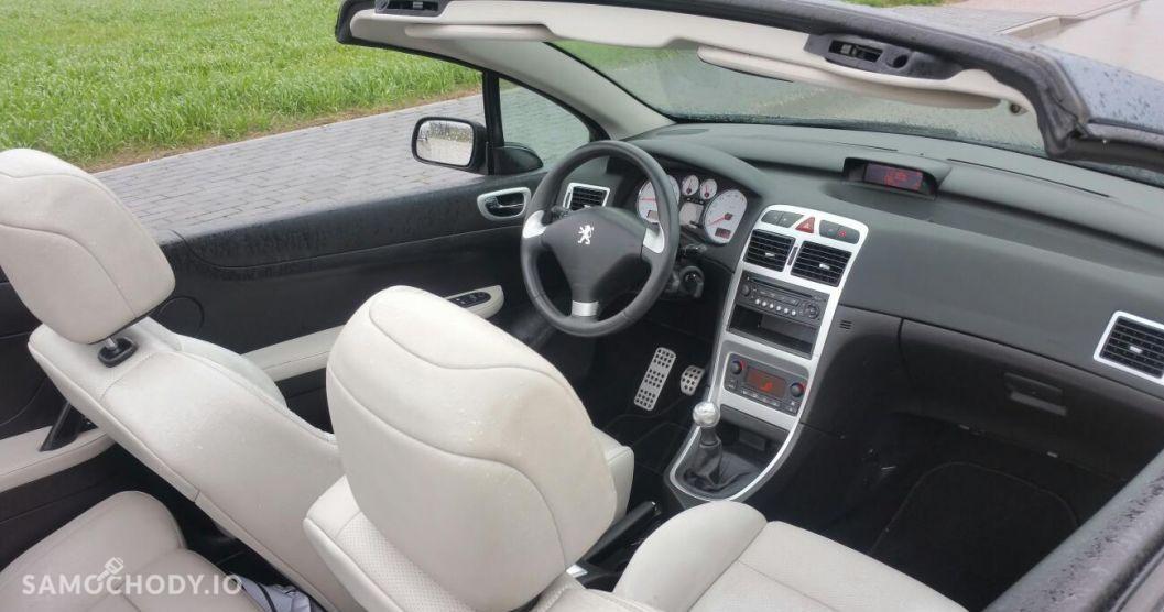 Peugeot 307 CC biała skóra, podgrzewane , klima , oplacony 2