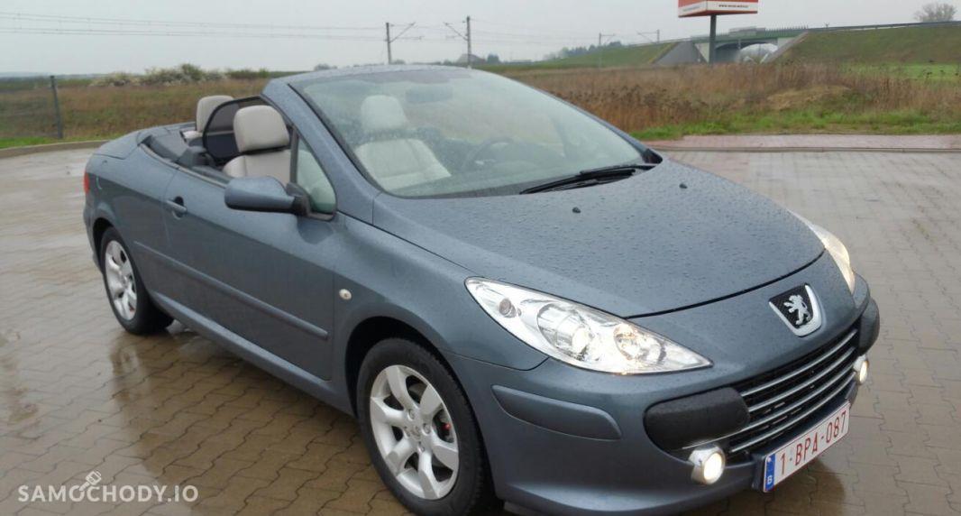 Peugeot 307 CC biała skóra, podgrzewane , klima , oplacony 1