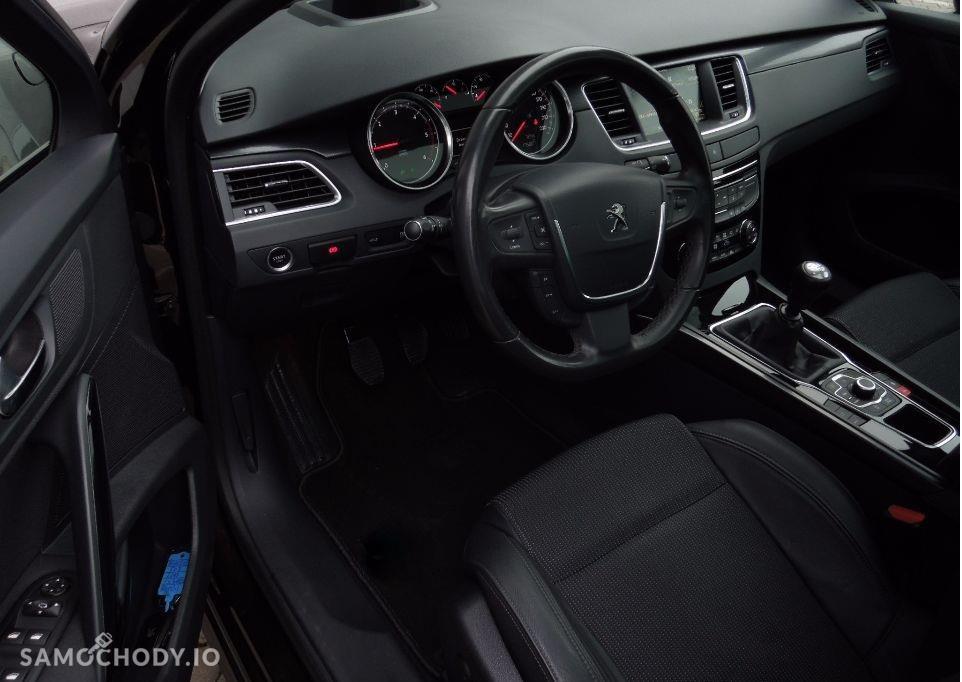 Peugeot 508 alufelgi, xenony , światła LED 4