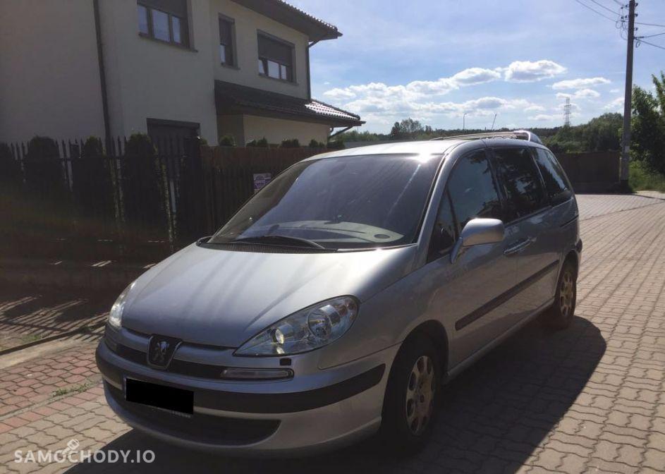 Peugeot 807 MINIVAN , FUL WYPOSAŻENIE , Filtr cząstek stałych 1