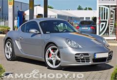 porsche z województwa wielkopolskie Porsche Cayman 300 KM , XENONY , SKÓRA , GPS