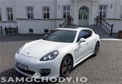 porsche z województwa wielkopolskie Porsche Panamera Salon Polska RS Spyder Design 4.8 500KM
