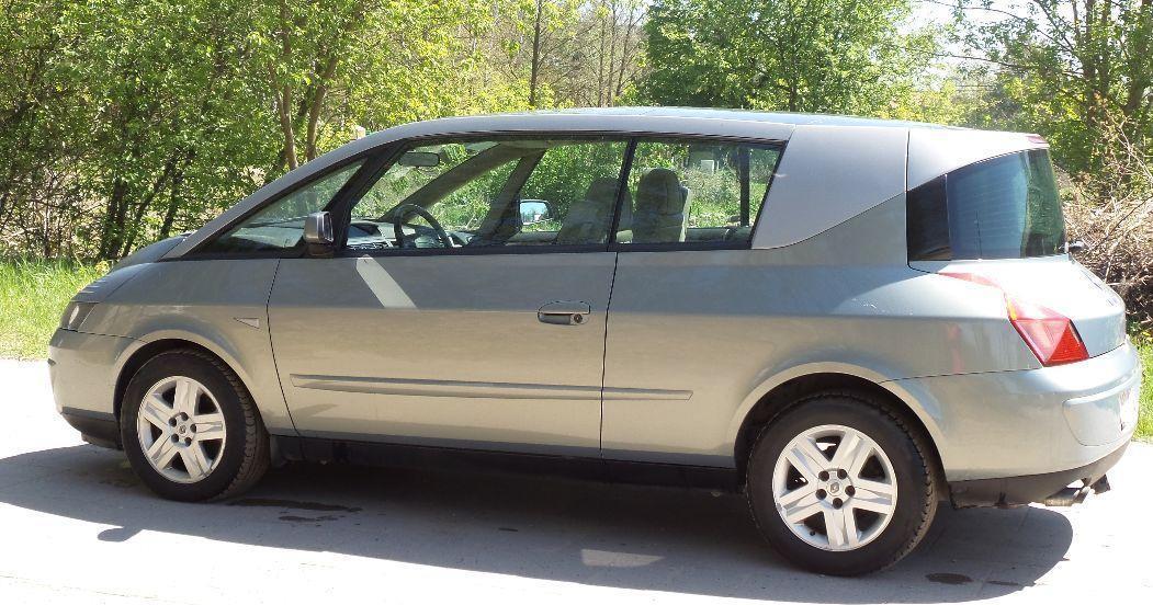 Renault Avantime 2.2 , 6 x airbag  , dach panoramiczny 2