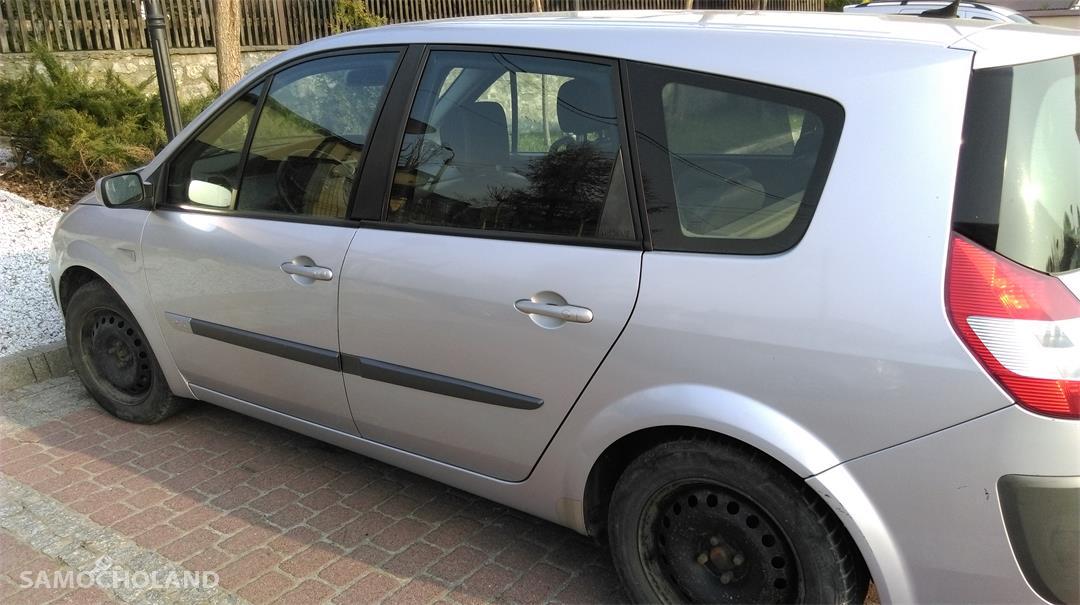 Renault Grand Scenic II (2003-2009) Samochód osobowy z hakiem, 7 osobowy, w dobrym stanie do jeżdżenia 2