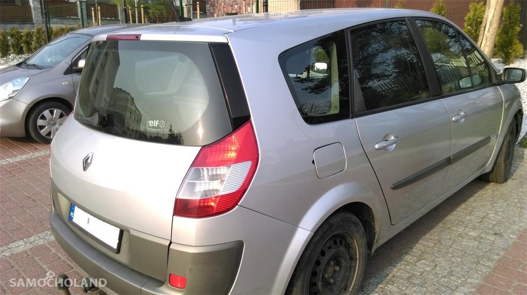 Renault Grand Scenic II (2003-2009) Samochód osobowy z hakiem, 7 osobowy, w dobrym stanie do jeżdżenia 4