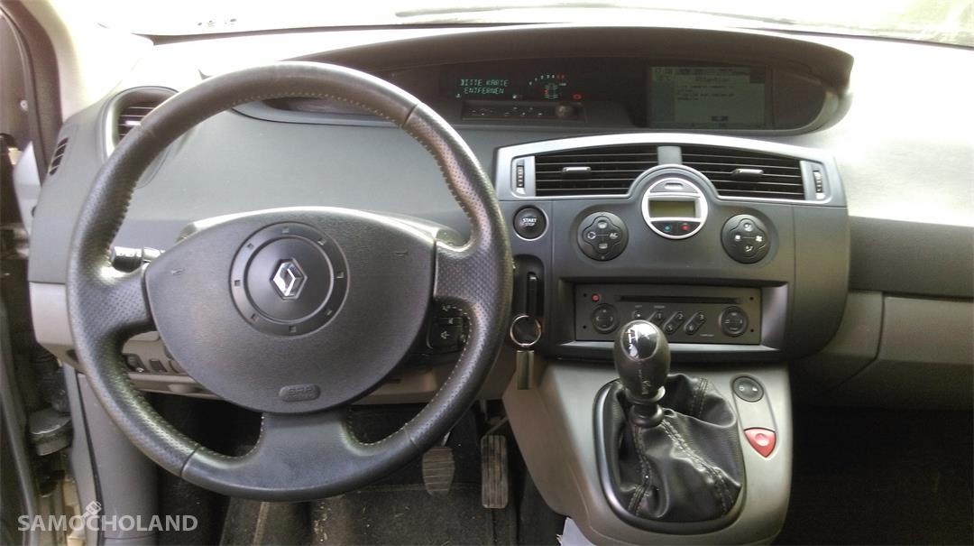Renault Grand Scenic II (2003-2009) Samochód osobowy z hakiem, 7 osobowy, w dobrym stanie do jeżdżenia 7