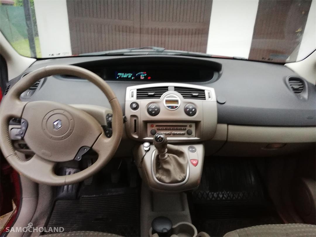 Renault Scenic II (2003-2009) 1.9 tdci 125 km, dach panorama, klima automatyczna. 37