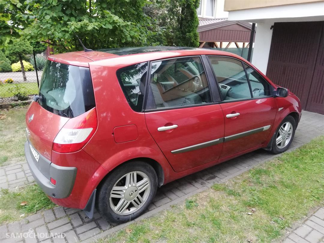 Renault Scenic II (2003-2009) 1.9 tdci 125 km, dach panorama, klima automatyczna. 7