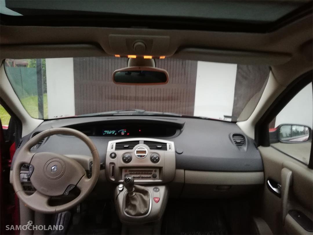 Renault Scenic II (2003-2009) 1.9 tdci 125 km, dach panorama, klima automatyczna. 29