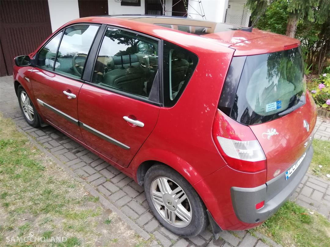Renault Scenic II (2003-2009) 1.9 tdci 125 km, dach panorama, klima automatyczna. 2