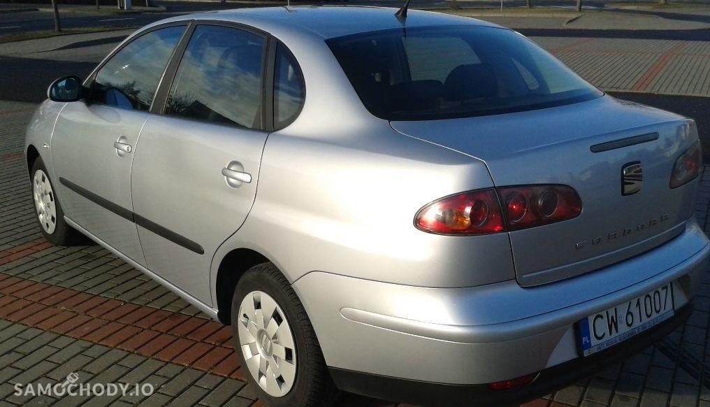 Seat Cordoba II (2002-2010) 1.4 benz, II właściciel, udokumentowany przebieg, parctronic 2