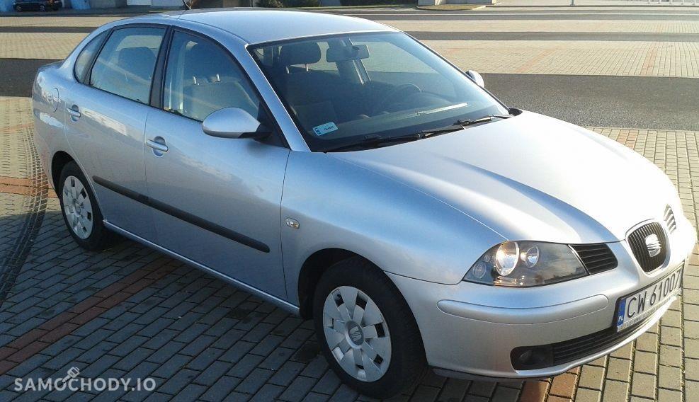 Seat Cordoba II (2002-2010) 1.4 benz, II właściciel, udokumentowany przebieg, parctronic 1