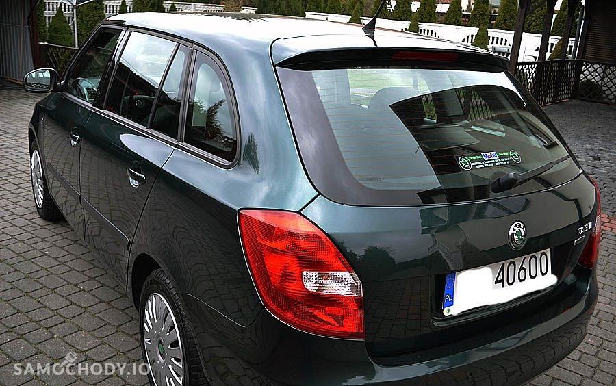 Skoda Fabia II (2007-) Fabia z 2009r. Benzyna 1.4 75Km. 2
