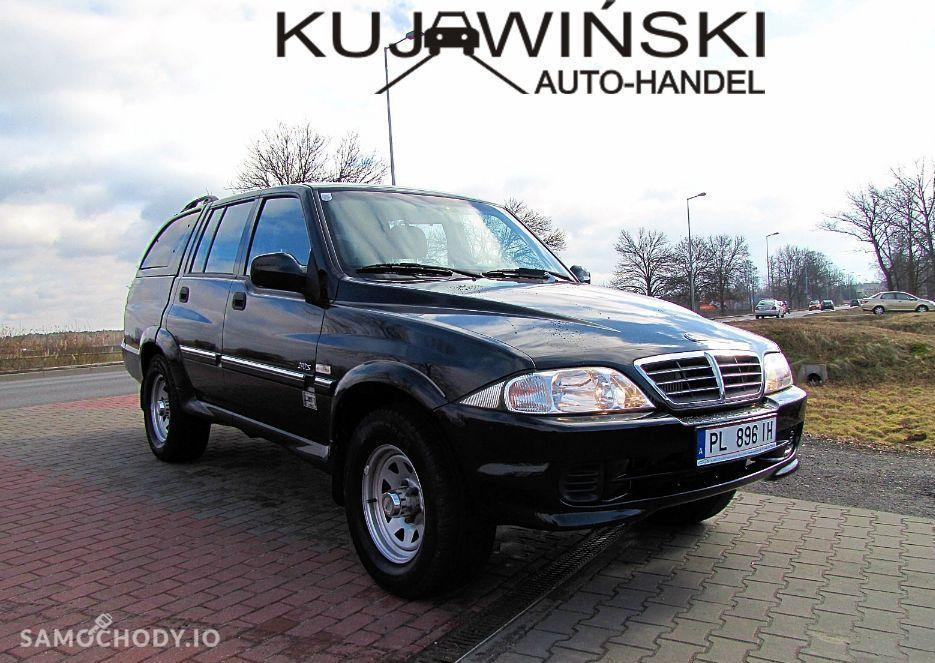 SsangYong MUSSO 2.9 TDI , 4X4 , bezwypadkowy 1
